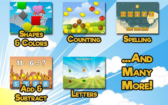 Preschool and Kindergarten Learning Games screenshot 11