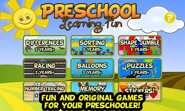 Preschool Learning Fun poster