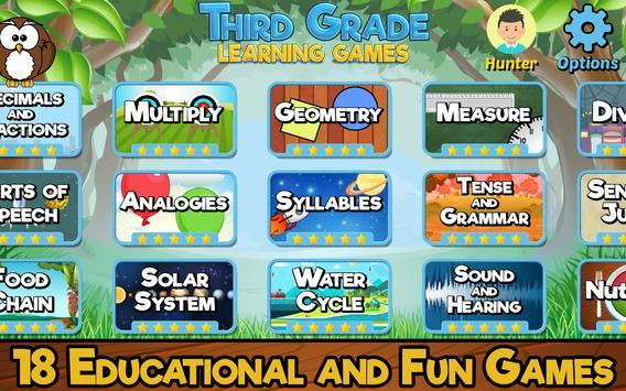Third Grade Learning Games screenshot 10