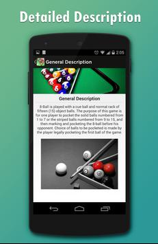 Pool & Snooker Rules screenshot 4