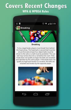 Pool & Snooker Rules screenshot 5