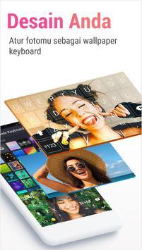 Rainbowkey Keyboard - Emoji Lucu,Stiker,Tema,Gif screenshot 2