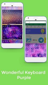 Keyboard Purple screenshot 5