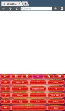Cute Strawberry Keyboard screenshot 11