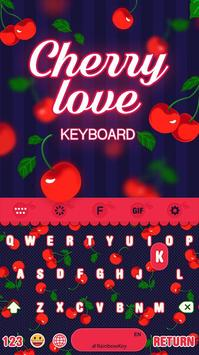 Fruit Color Keyboard Theme poster