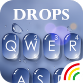 Water Drops Theme - Keyboard Theme for Android icon