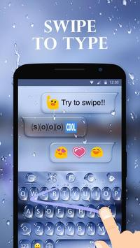 Water Drops Theme - Keyboard Theme for Android screenshot 3