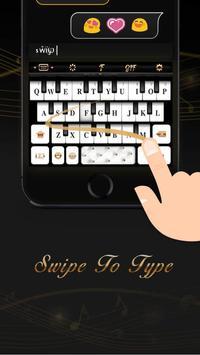 Black&White Piano Keyboard Theme screenshot 3