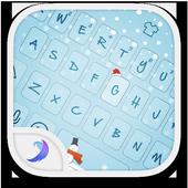 Emoji Keyboard-First Snow icon