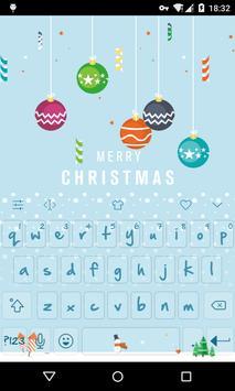 Emoji Keyboard-First Snow poster