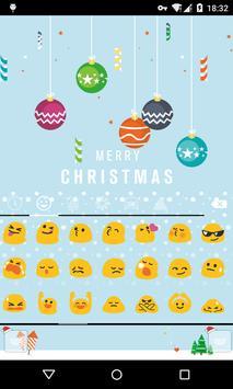Emoji Keyboard-First Snow screenshot 1