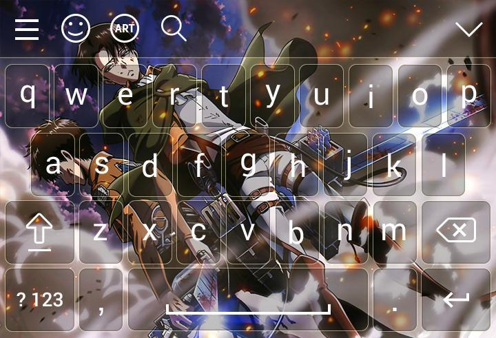 New Attack On Titan Keyboard Theme For Android Apk Download