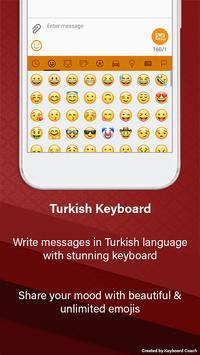 Turkish Keyboard screenshot 1