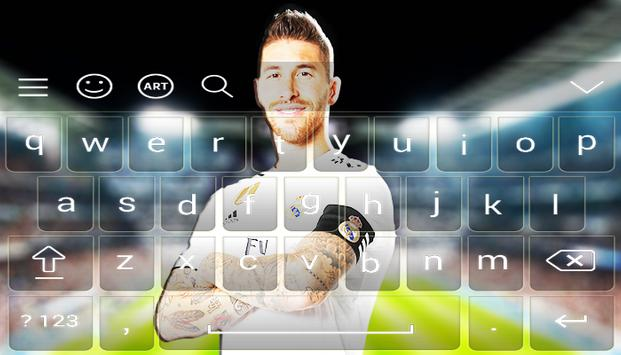 Real Madrid FC Keyboard 2020 poster