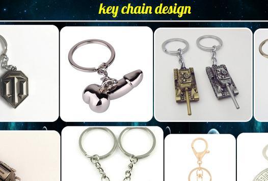 key chain design. poster