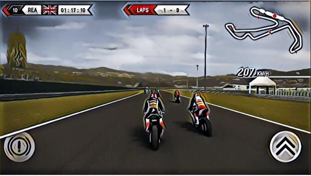 Real Moto Bike Racing : Superbikes Championship screenshot 2
