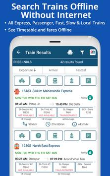 Live Train IRCTC Enquiry PNR Status Indian Railway screenshot 2