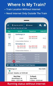 Live Train IRCTC Enquiry PNR Status Indian Railway screenshot 3