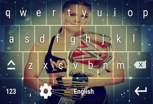Wrestling Stars Keyboard Theme screenshot 4