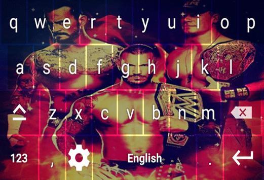 Wrestling Stars Keyboard Theme poster