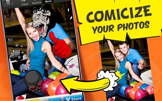 Photo Comics – Super Stickers poster