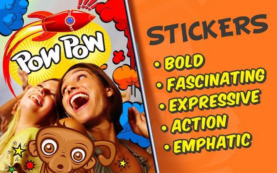 Photo Comics – Super Stickers screenshot 1