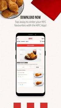 KFC Malaysia syot layar 2