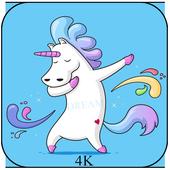 kawaii cute unicorn wallpapers icon