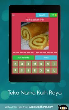 Teka Nama Kuih Raya screenshot 10