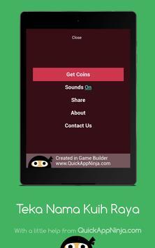 Teka Nama Kuih Raya screenshot 20