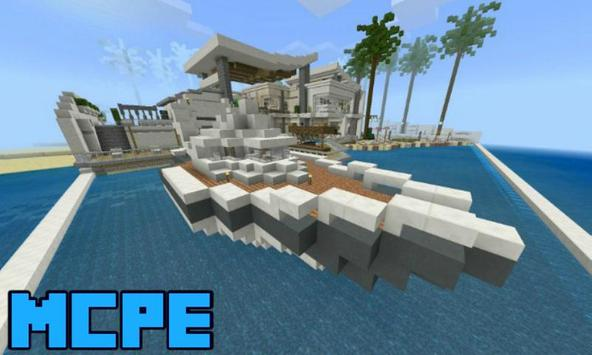 Modern Redstone Mansion for Minecraft PE for Android - APK Download