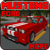 Sports Car: Ford Mustang Addon for MCPE icon