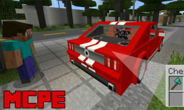 Sports Car: Ford Mustang Addon for MCPE poster
