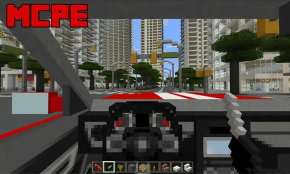 Sports Car: Ford Mustang Addon for MCPE screenshot 1