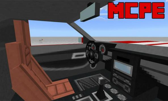 Sports Car: Ford Mustang Addon for MCPE screenshot 2