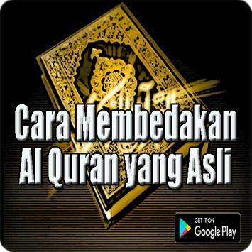 Cara Membedakan Al Quran yang Asli poster