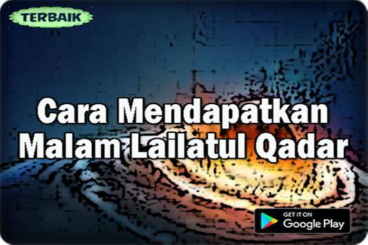 Cara Mendapatkan Malam Lailatul Qadar screenshot 1