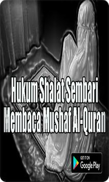 Hukum Shalat Sembari Membaca Mushaf Al-Quran screenshot 2