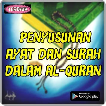 Penyusunan Ayat Dan Surah Dalam Al Quran poster