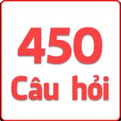 450 câu hỏi ôn thi bằng lái icon
