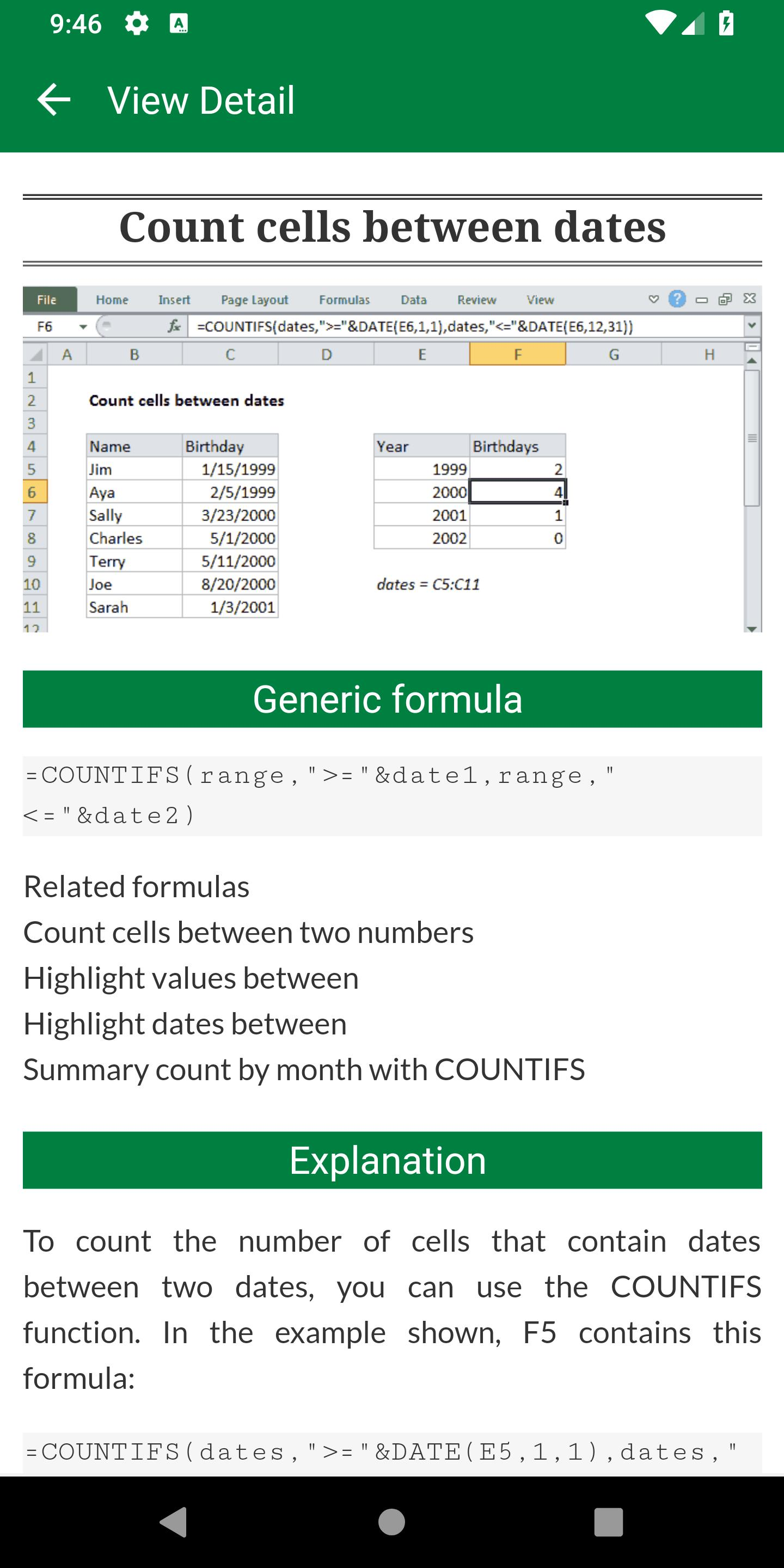 Advance Excel for Android   APK Download