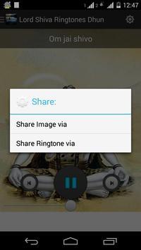 Lord Shiva Ringtones Aarti screenshot 4