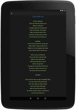 MR. BIG Top Lyrics screenshot 7