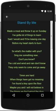 Oasis Top Lyrics скриншот 16
