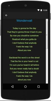 Oasis Top Lyrics скриншот 3