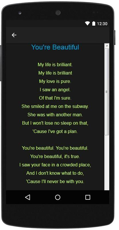 James Blunt Top Lyrics For Android Apk Download