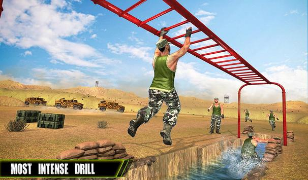 US Army Training School Game: Obstacle Course Race screenshot 13