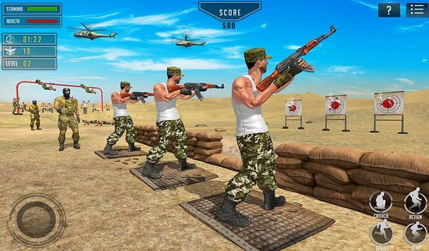 US Army Training School Game: Obstacle Course Race screenshot 14