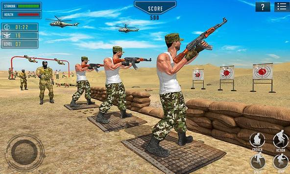 US Army Training School Game: Obstacle Course Race screenshot 4