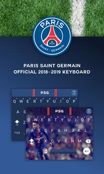 PSG Official Keyboard poster